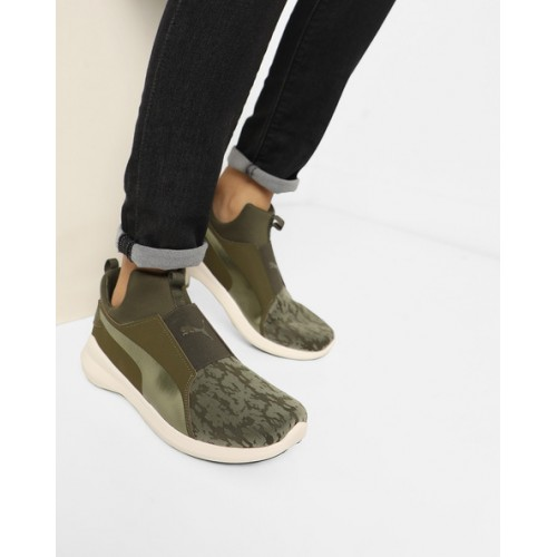 eastbay sale shop Puma Rebel Mid Wns Vr Olive Sneakers free shipping deals 52l9VjY
