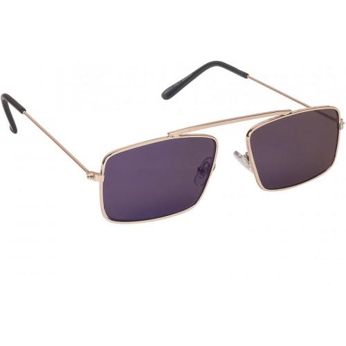 be8ca36c5eb ... Arzonai Royal Blue Rectangle Shape UV Protected Sunglasses for Men s  (MA-091- ...