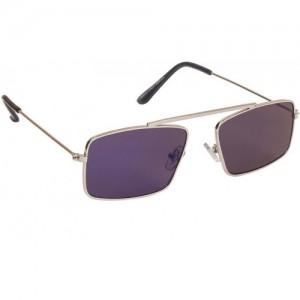 d6719a81ecd Arzonai Royal Blue Rectangle Shape UV Protected Sunglasses for Men s (MA -091-S3