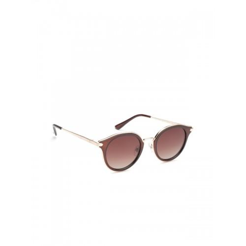 5acf25d95aad ... Daniel Klein Women Polarised Cateye Sunglasses DK4182-C6 ...