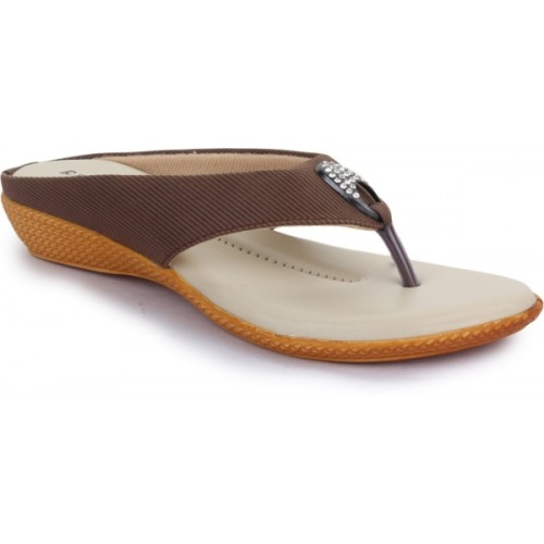 c88a1bbd2712 Buy Global India Women Brown Flats online