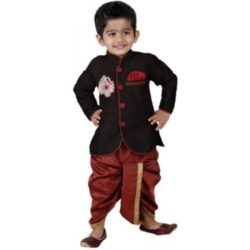 FTC FASHIONS Boys Festive & Party Kurta and Dhoti Pant Set