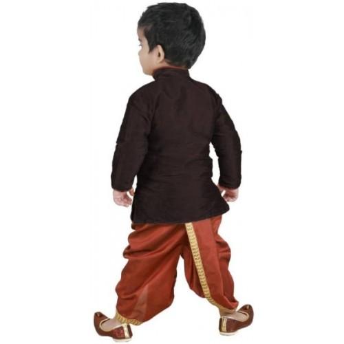 f0d17e44b Buy FTC FASHIONS Boys Festive & Party Kurta and Dhoti Pant Set ...