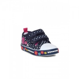 Fame Forever by Lifestyle Girls Navy Blue Sneakers