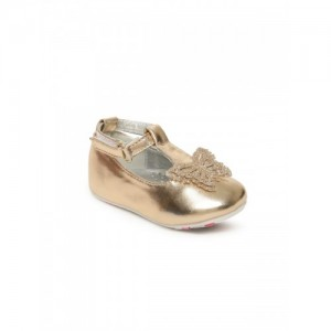 3d231dde7ae5 Fame Forever by Lifestyle Girls Rose Gold-Toned Ballerinas