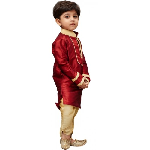 70e945299 Buy JBN Creation Boys Festive & Party, Wedding Kurta and Pyjama Set ...