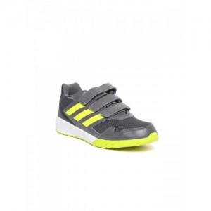 Adidas Unisex Grey & Yellow ALTARUN CF Running Shoes