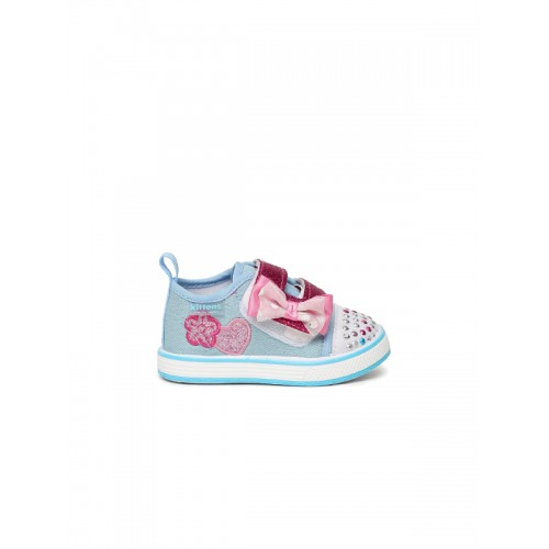 Kittens Girls Blue Sneakers