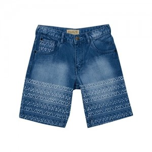 Gini & Jony Blue Denim Boys' Shorts