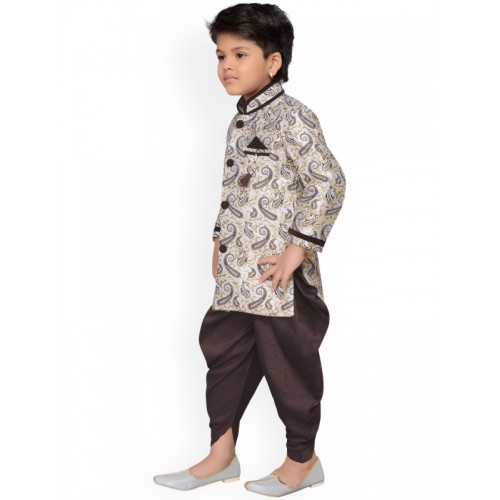 AJ Dezines Baby Boys Indo Western Sherwani Suit for Kids