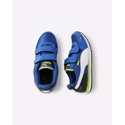 Puma Colourblock Casual Shoes with Velcro Fastening