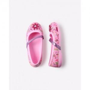 CROCS Lina Graphic Flat GS Slip-On Shoes