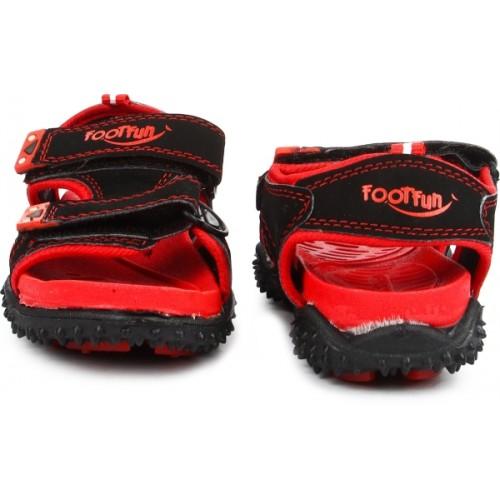 Footfun by Liberty Boys & Girls Velcro Strappy Sandals