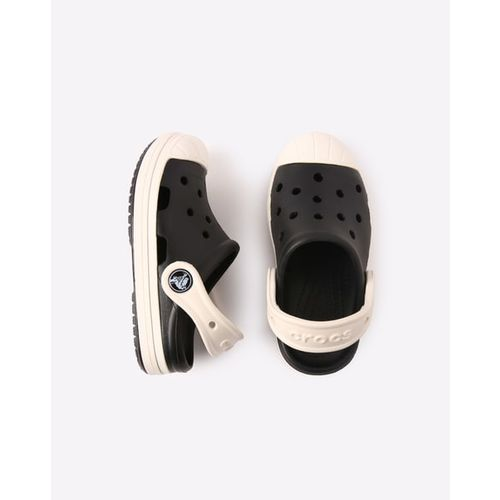crocs Kids Unisex Bump It Black/Oyster Clogs