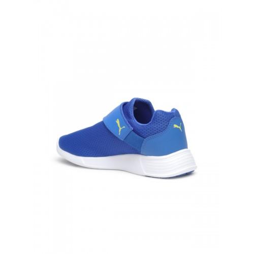 Puma Kids Blue ST Trainer Evo AC Slip-Ons
