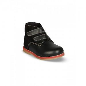 Beanz Boys Black Flat Boots