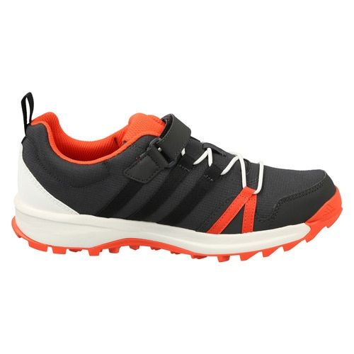 Adidas Kids Charcoal Grey Tracerocker CloudFoam K Outdoor Shoes