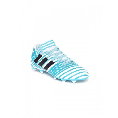 0fd863c35efa Buy Adidas Boys Blue NEMEZIZ Messi 17.3 FG J Football Shoes online ...