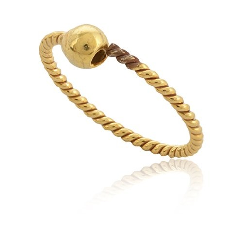 Buy Eloish Stylish Gold Nose Ring For Women Ball Shinny Gold Nose