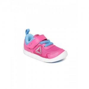 Reebok Kids Pink Ventureflex Stride 5.0 Sports Shoes