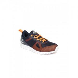Reebok Boys Navy & Orange Super Lite JR Xtreme Running Shoes