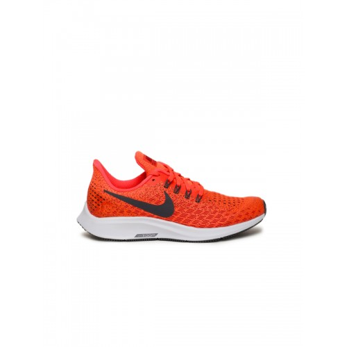 Nike Boys Fluorescent Orange Air Zoom Pegasus 35 Running Shoes