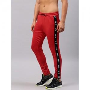 HRX by Hrithik Roshan Men Red RAPID-DRY Track Pants