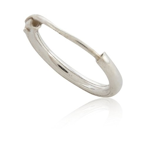 ELOISH 92.5 Sterling Silver Nose Rings for Women. 92.5% Pure Silver Nose Ring for Girls (NOSERINGBALI)