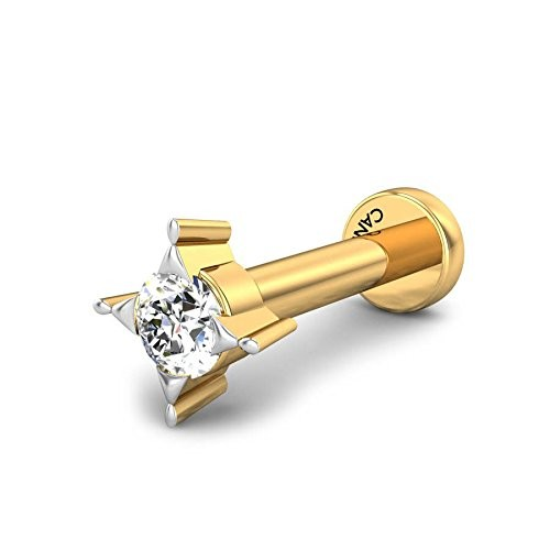 Buy Candere By Kalyan Jewellers 18K (750) Yellow Gold and Diamond