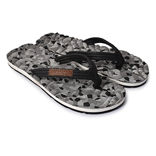 d188c5fd0967c6 Buy Electra Kids Black Grey Color Thong-Style Slippers Flip Flops ...