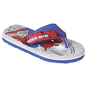 Spiderman Kids Boys Grey Color Flip-Flop(Size-5)