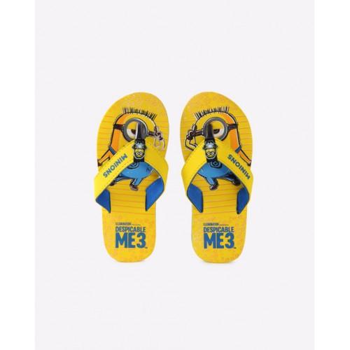 ... KIDSVILLE Minions Print Thong Strap Flip Flops ...