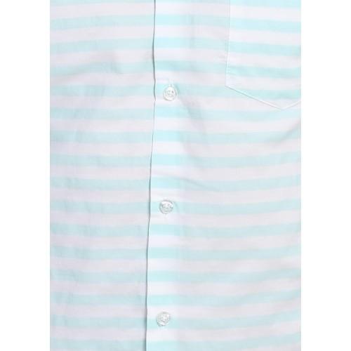 Highlander Men's Striped Casual Shirt