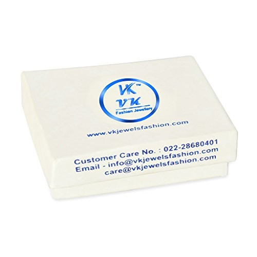 VK Jewels Classic (CZ) Rhodium Plated Ring - FR1016R [VKFR1016R]