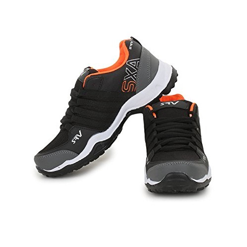 Trase SRV Parker Black Orange / Grey Green Men Sports Running Shoes