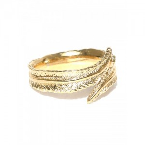 Accessorize Gold-Plated Textured Ring