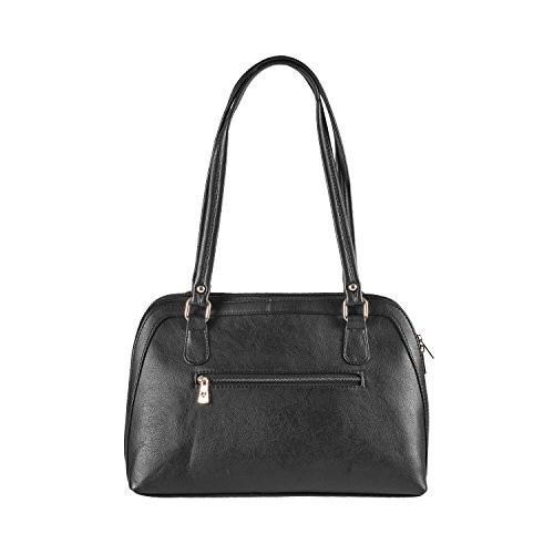 Mochi Women Black Synthetic Handbag (66-5254)