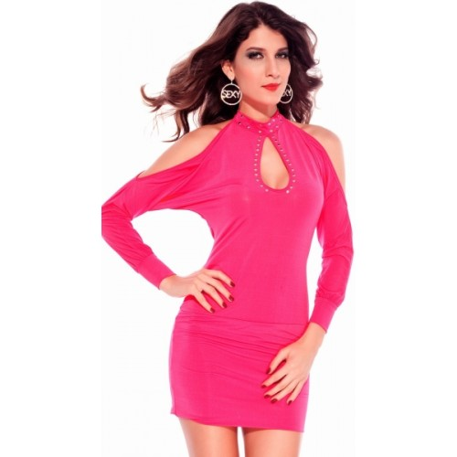 eb9a8ee8a Kaamastra Women s Bodycon Pink Dress  Kaamastra Women s Bodycon Pink Dress  ...