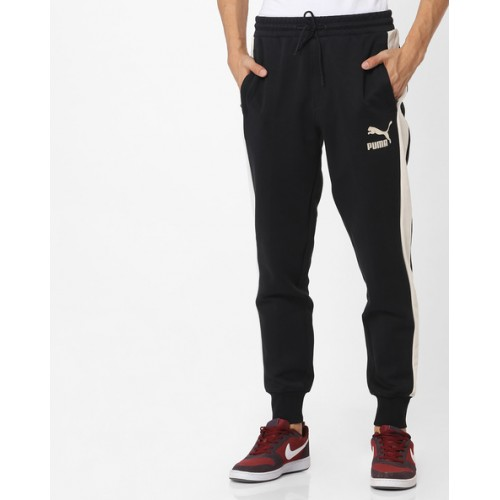 5277c4b14e89 Buy Puma T7 Colourblock Joggers with Suede Inserts online