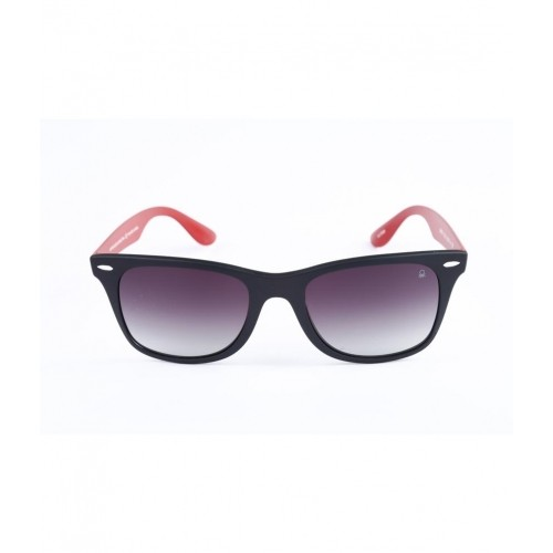 red wayfarer sunglasses s0zc  Ucb Black & Red Wayfarer Sunglasses