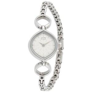 Titan Raga NE2497SM01 Silver Women's Analog Watch
