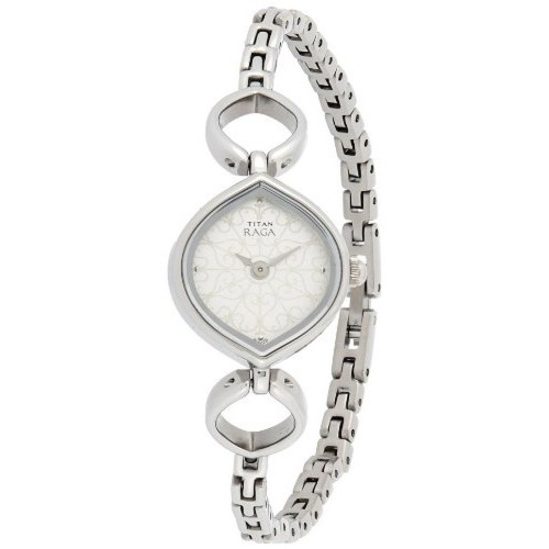 Titan Raga NE2497SM01 Silver Women's Analog Watch