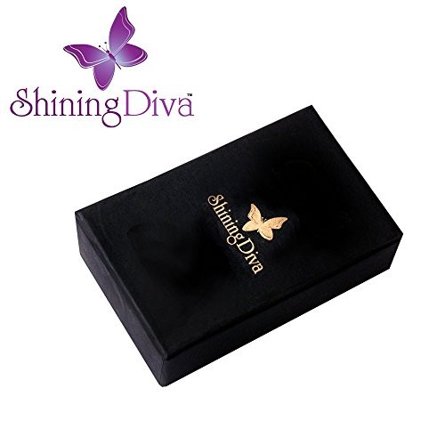 Shining Diva Fancy Party Wear Green Kundan Traditional Jewellery Necklace Set with Earrings for Women & Girls(8648s)