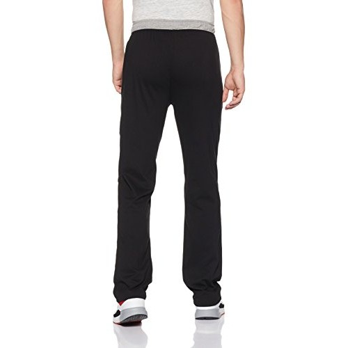 Jockey Black Cotton Modern Fit Track Pants