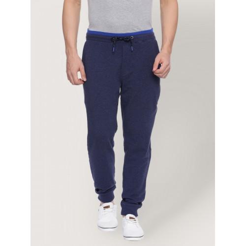 cf6f0b0c796f21 Buy Van Heusen Navy Blue Men Track Pants online | Looksgud.in