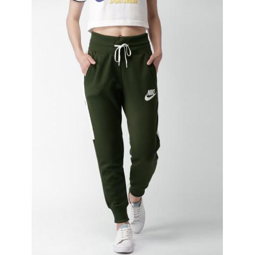 f589be1c6ee2 Buy Nike Olive Green Sports Wear PK HW Joggers online