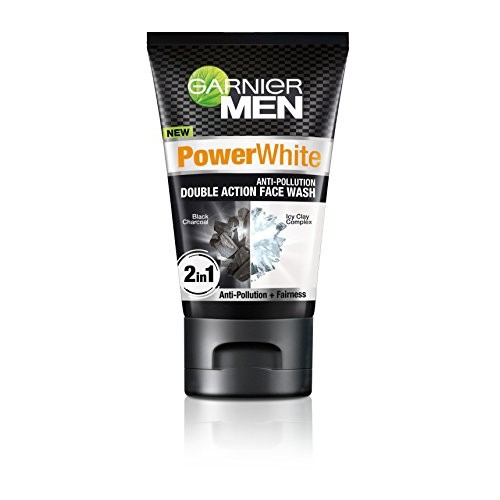 Garnier Men Face Wash Power White Double Action, 100g