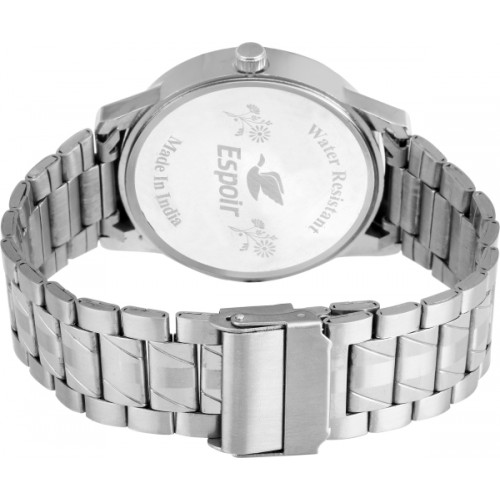 Espoir LCS-8011 DAY AND DATE FUNCTIONING STAINLESS STEEL Watch  - For Men