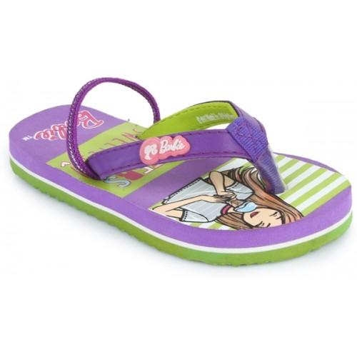 Barbie Girls Slip On Slipper Flip Flop
