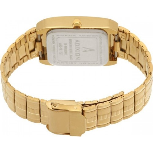 ADIXION 9151YMA11 Stainless Steel Gold watch with Swarovski dial. Watch  - For Men